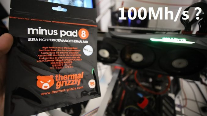 Adding Thermal PADS To My RTX 3080 For Higher Ethereum HASHRATE!?